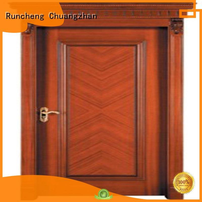 Runcheng Chuangzhan novel solid steel front door wholesale for homes