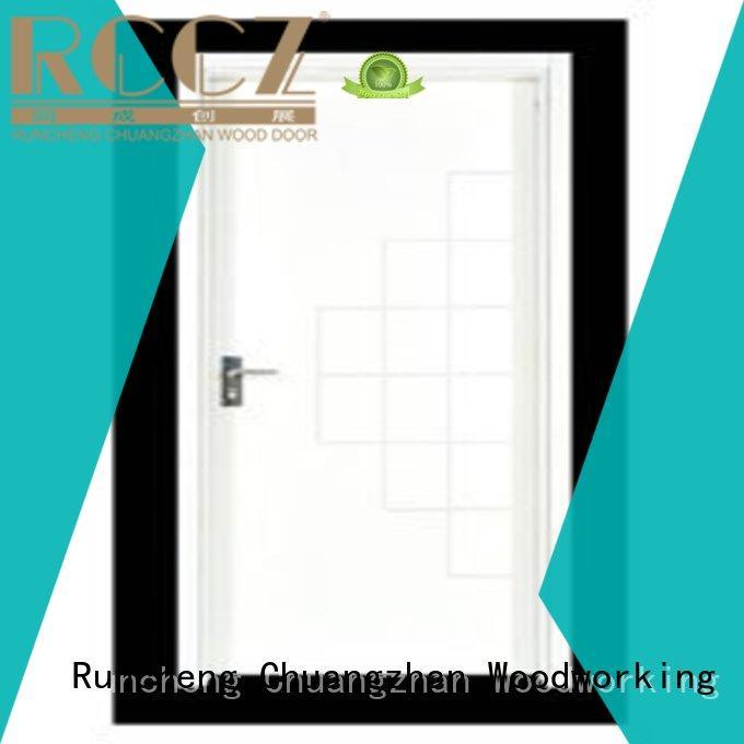 Runcheng Chuangzhan safe hardwood flush door manufacturer for indoor
