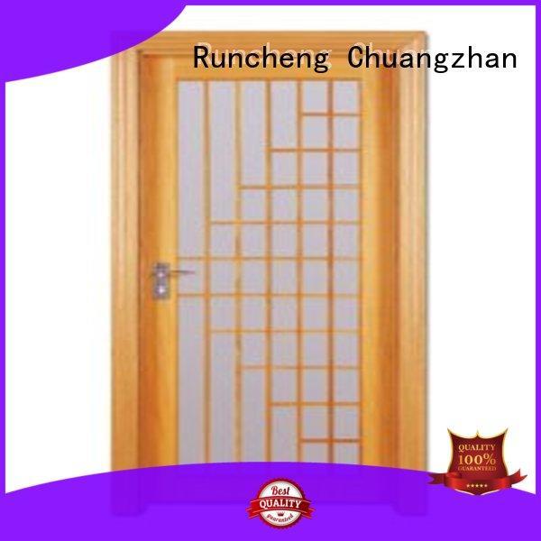 Runcheng Chuangzhan durability bedroom door designs in wood Suppliers for indoor