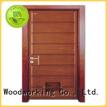 composite interior doors x0152 d0072 solid wood bathroom doors Runcheng Woodworking Brand