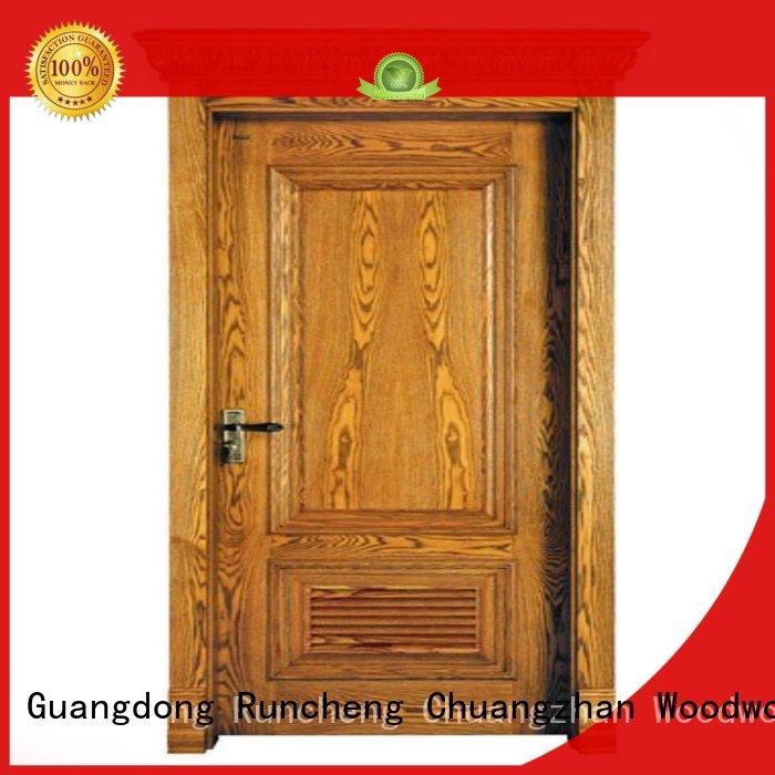 Runcheng Chuangzhan bathroom wood veneer panels Supply for villas