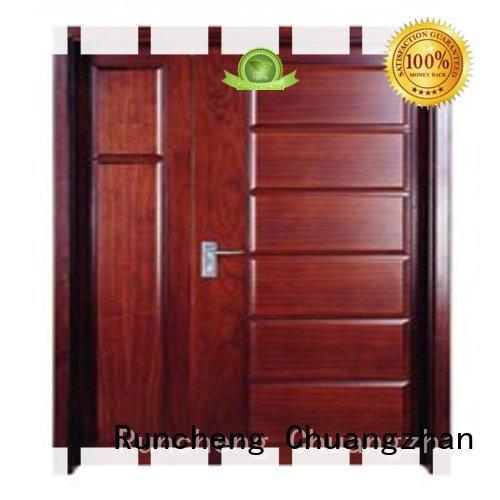 Runcheng Chuangzhan design wooden flush door supplier for indoor