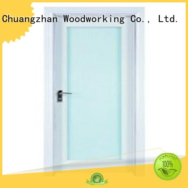 Hot durable wooden double glazed doors glazed door Runcheng Woodworking Brand