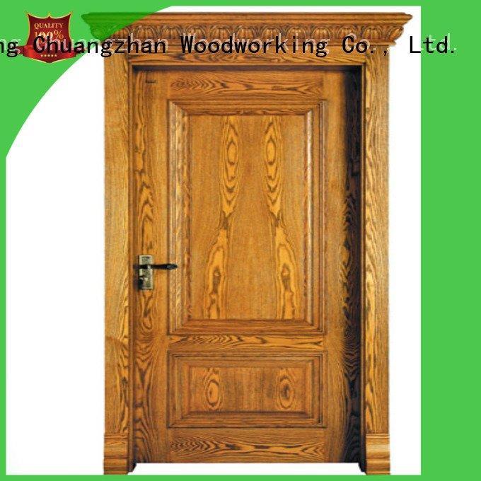kitchen door bathroom Runcheng Woodworking oak veneer interior doors
