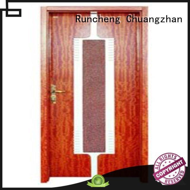 Runcheng Chuangzhan durability new bedroom door series for hotels