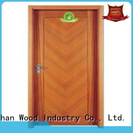 door durable flush plywood flush internal doors Runcheng Chuangzhan Brand