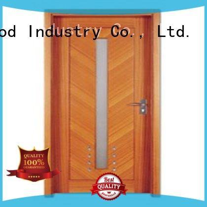 plywood flush internal doors hot selling wooden flush door Runcheng Chuangzhan Brand