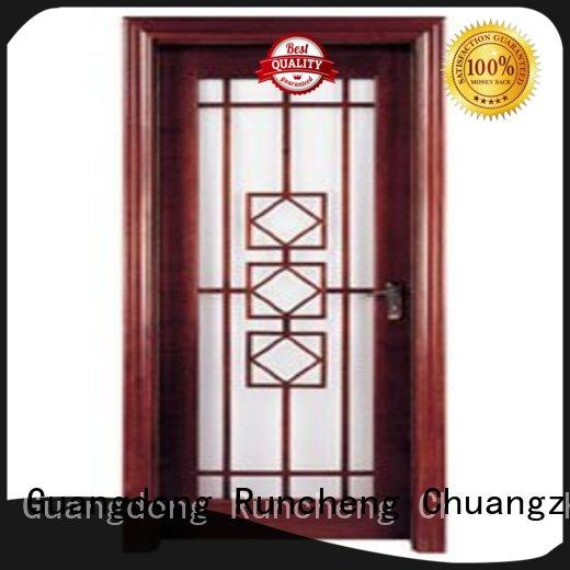 high-grade glazed wood door manufacturers for indoor