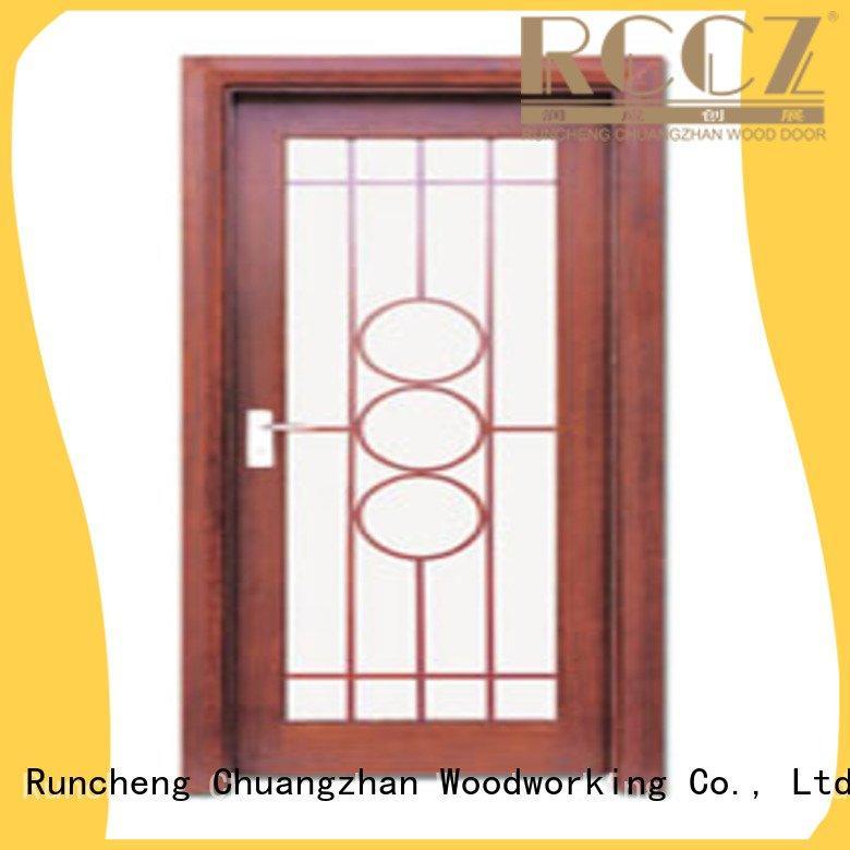OEM wooden glazed front doors glazed door door wooden double glazed doors