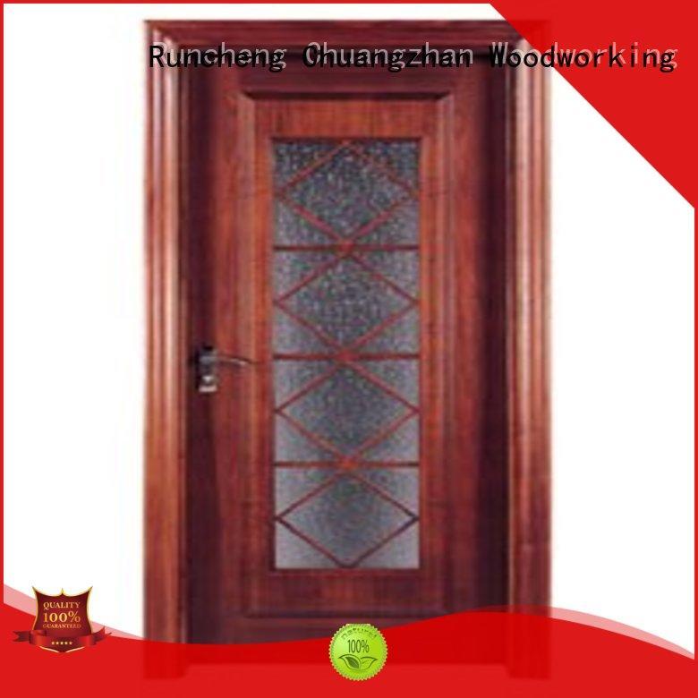 Runcheng Chuangzhan durability white glazed interior doors Supply for villas