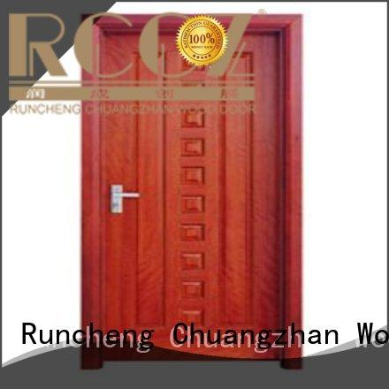 Hot wooden flush door door Runcheng Woodworking Brand