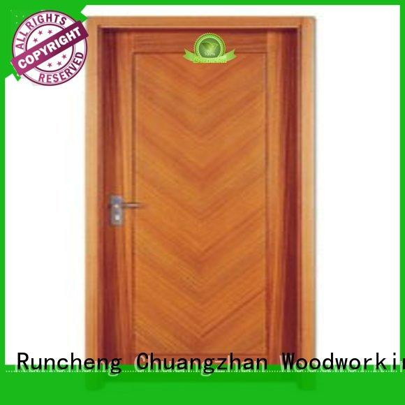 Runcheng Chuangzhan design wooden flush door series for hotels