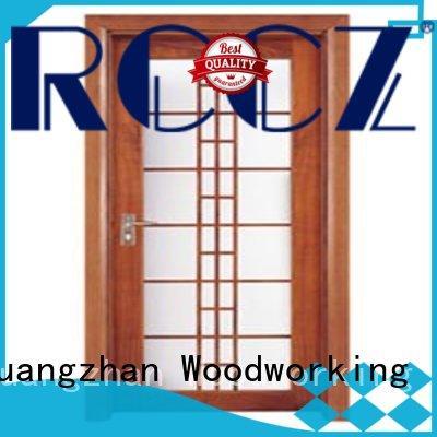 Runcheng Chuangzhan glazed interior glazed doors series for indoor