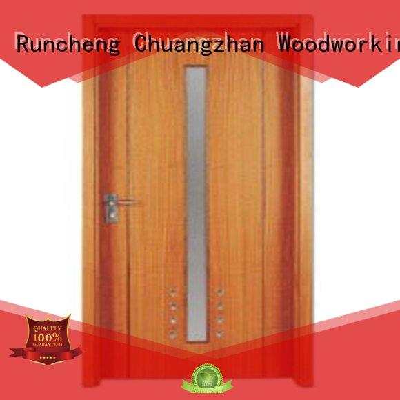 plywood flush internal doors door wooden flush door Runcheng Woodworking Brand