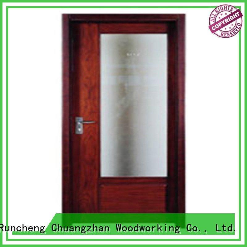 Runcheng Woodworking pp0073 pp0052 p001 flush mdf interior wooden door pp014