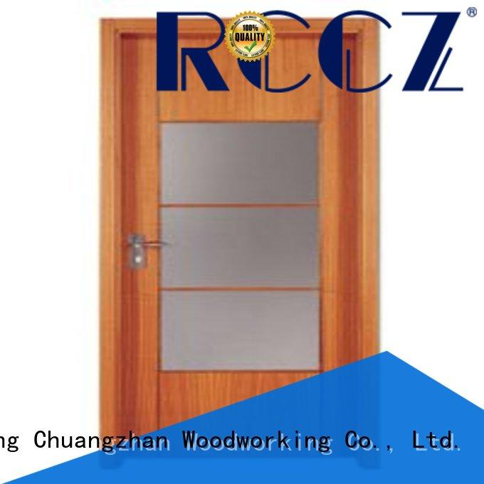 Runcheng Chuangzhan modern wooden flush door price list series for indoor