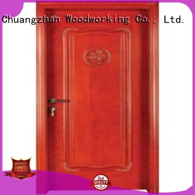 solid core bedroom door wood solid pure Warranty Runcheng Woodworking