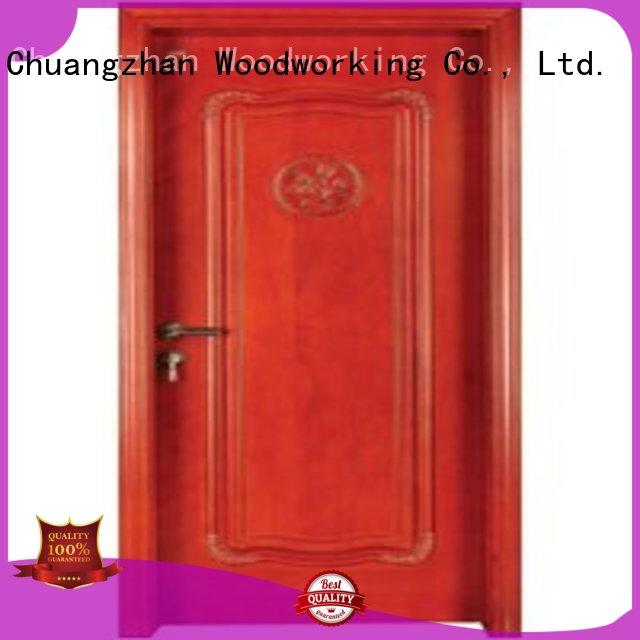 solid core bedroom door wood solid pure Warranty Runcheng Woodworking