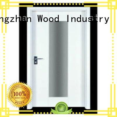 Runcheng Chuangzhan modern veneered flush wood door wholesale for hotels