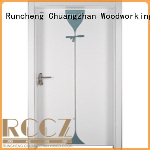 s009 s007 x033 Runcheng Woodworking bedroom door designs in wood