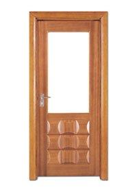 Runcheng Woodworking Glazed Door X016-3 Glazed Door image46