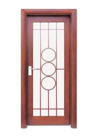 Runcheng Woodworking Glazed Door X013-4 Glazed Door image2