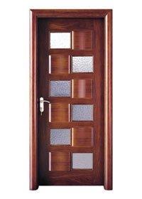 door wooden double glazed doors Runcheng Woodworking wooden glazed front doors
