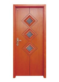 Runcheng Woodworking Glazed Door D007-3 Glazed Door image5