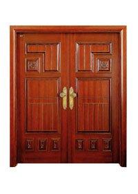 Runcheng Woodworking Double Door D006-5 Double Door image8