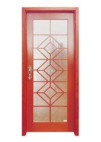 Runcheng Woodworking Glazed Door D007-4 Glazed Door image4