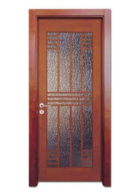 Runcheng Woodworking Glazed Door X023-4 Glazed Door image31