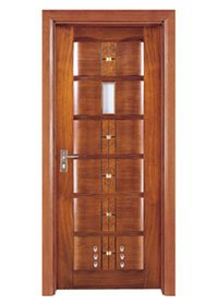 Runcheng Woodworking Bathroom Door X019-2 Bathroom Door image41