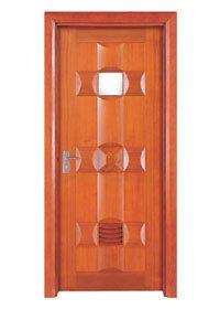 Runcheng Woodworking Bathroom Door X018-2 Bathroom Door image44