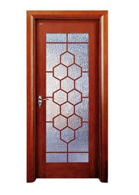 Runcheng Woodworking Glazed Door X021-4 Glazed Door image36