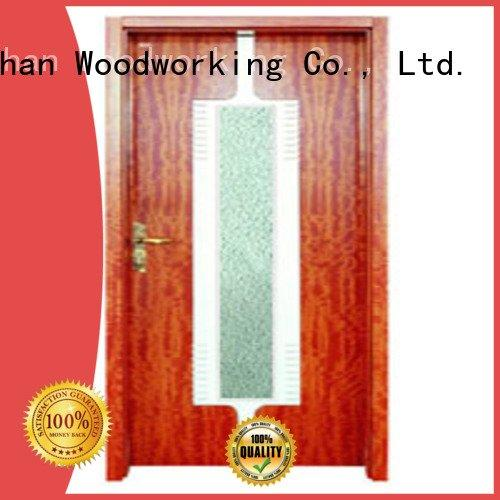 wooden glazed front doors door wooden double glazed doors glazed Runcheng Woodworking