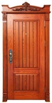 Steel Wood Door EU006