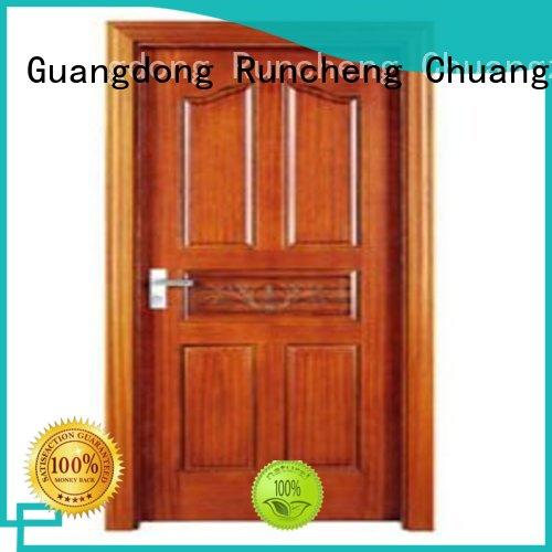 Runcheng Chuangzhan high-grade solid bedroom doors door for homes