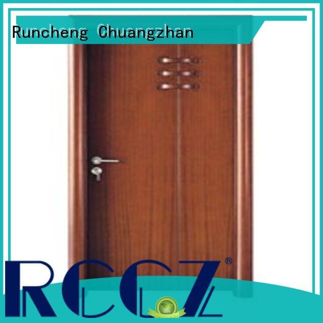 Runcheng Chuangzhan eco-friendly new bedroom door for business for hotels