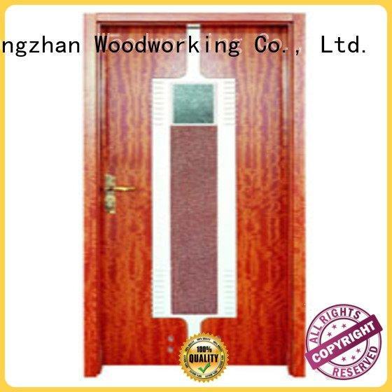 composite interior doors door bathroom Runcheng Woodworking Brand