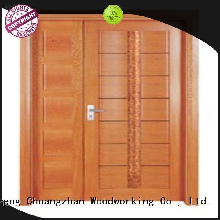 Runcheng Chuangzhan durability double door factory for hotels