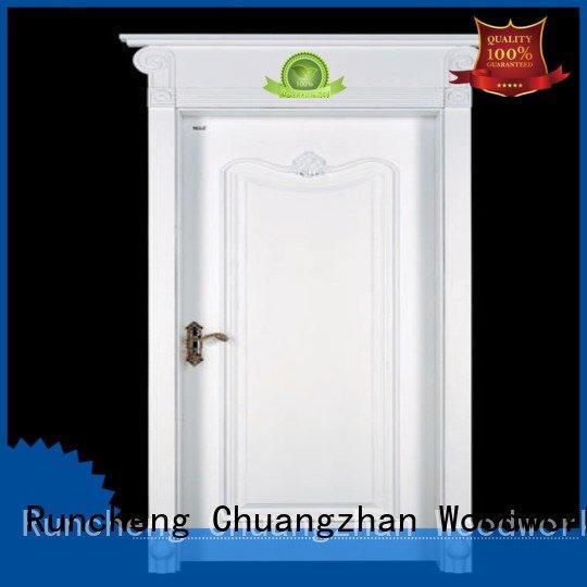 Quality Runcheng Woodworking Brand sunshine mdf composite wooden door