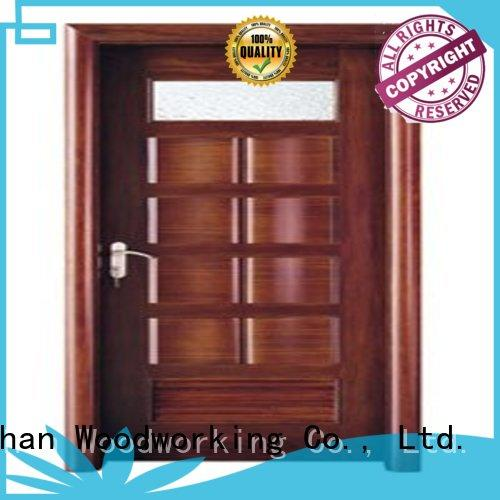 Runcheng Woodworking Brand wholesale bathroom door custom modern bathroom door