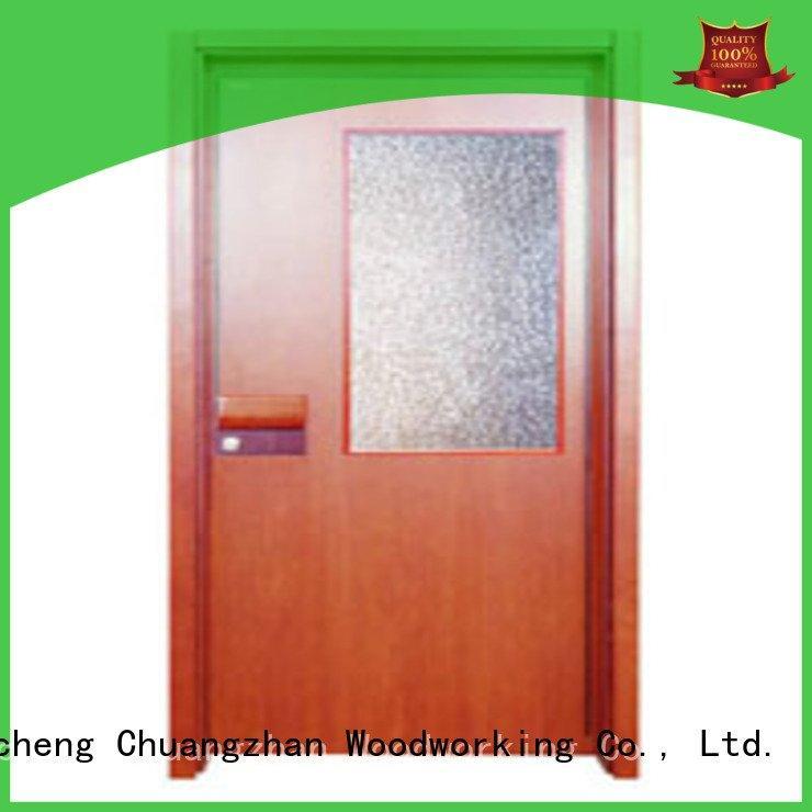 Runcheng Woodworking Brand pp0012 pp0092 pp0073 flush mdf interior wooden door
