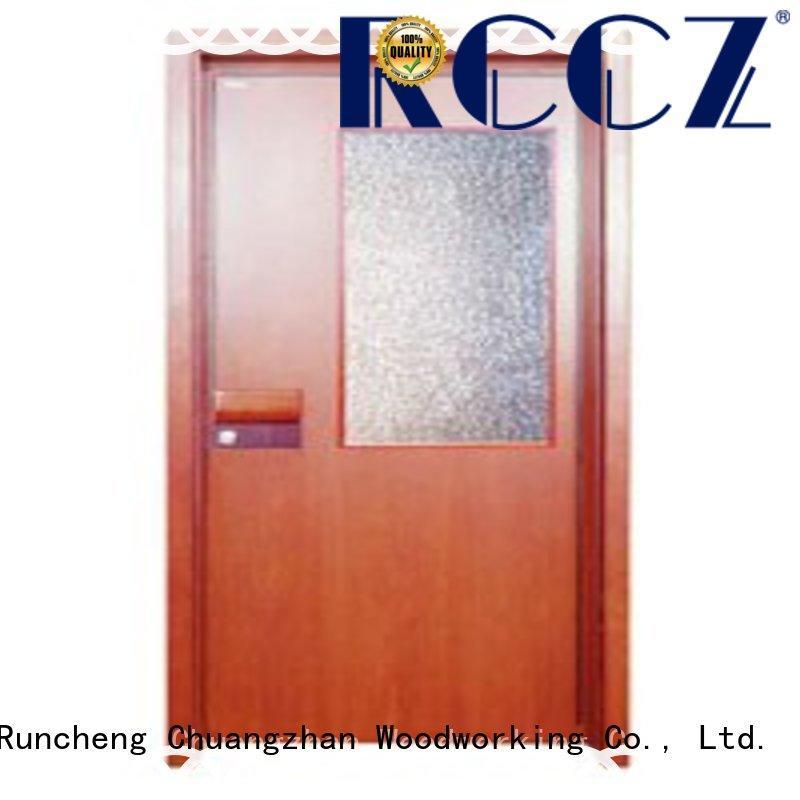 Runcheng Chuangzhan modern wooden flush door supplier for indoor