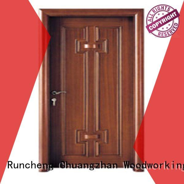 Quality bedroom design Runcheng Woodworking Brand x022 new bedroom door