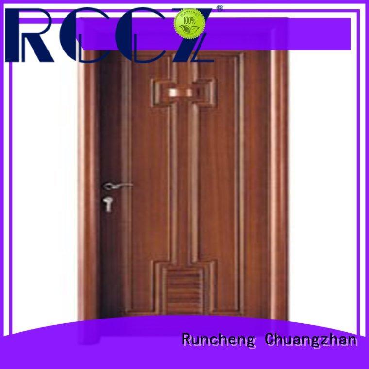Runcheng Chuangzhan durability wooden bathroom door wholesale for indoor