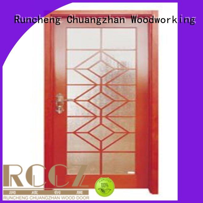 Runcheng Chuangzhan eco-friendly double glazed interior doors suppliers for villas