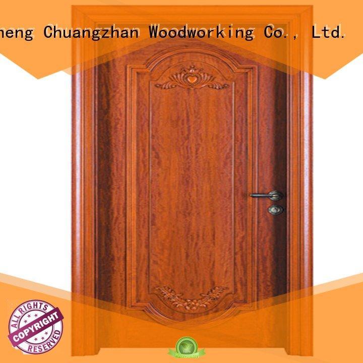 wooden door Runcheng Woodworking cheap wooden front doors