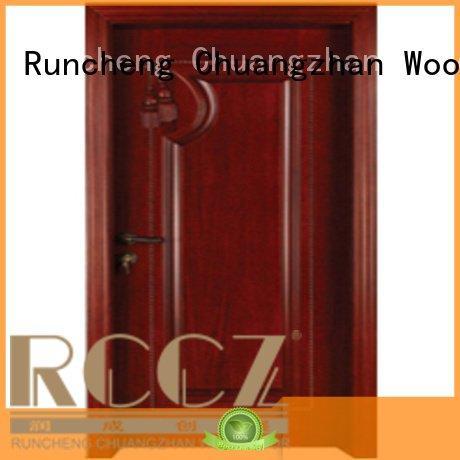 OEM bedroom wooden interior door bedroom solid bedroom door designs in wood