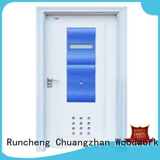 composite interior doors x0222 solid wood bathroom doors d0072 Runcheng Woodworking
